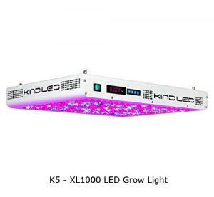 Kind K5 XL 1000 LED Grow Light Review