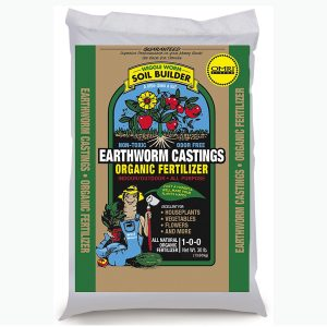 best soil builder- worm casting
