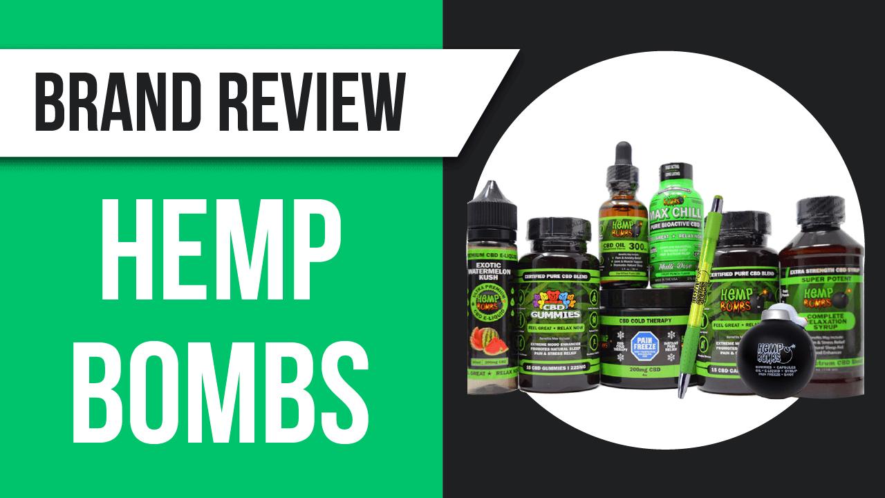 Hemp Bombs review